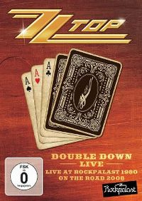 Cover ZZ Top - Double Down Live - Live At Rockpalast 1980 - On The Road 2008 [DVD]